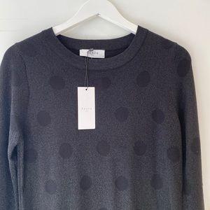 PRICE DROP ⬇️Axara Paris Black Polka dot dress